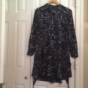1.State Navy floral dress